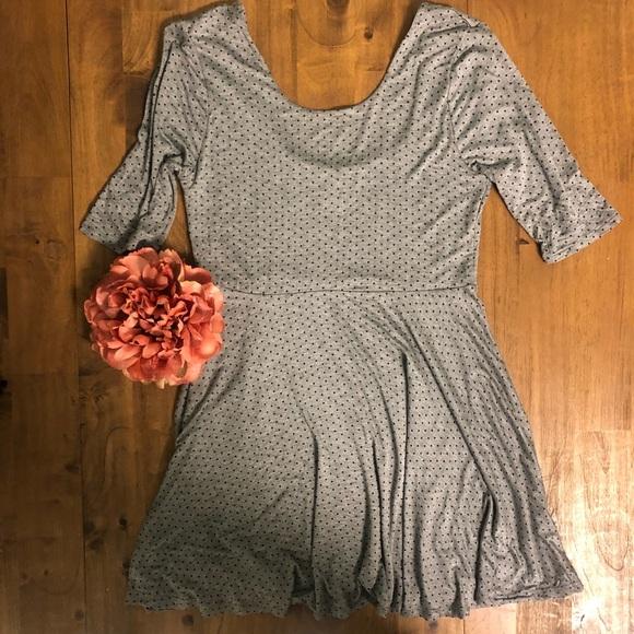 Forever 21 Dresses & Skirts - Polka Dot Skater Dress